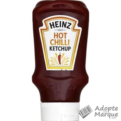Heinz Tomato Ketchup Hot Chili Le flacon Top Down de 460G