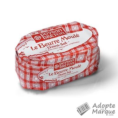 Paysan Breton Beurre Moulé - Demi-sel La plaquette de 125G