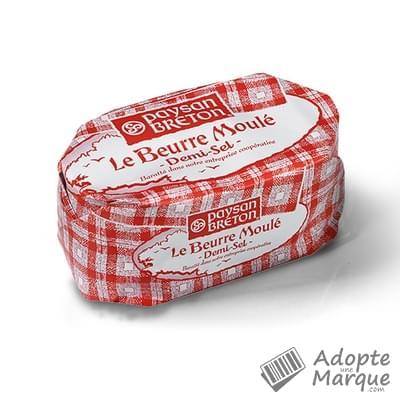 Paysan Breton Beurre Moulé - Demi-sel La plaquette de 500G