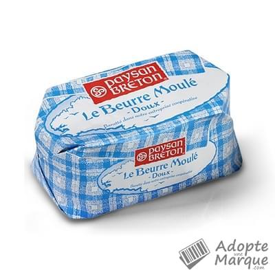 Paysan Breton Beurre Moulé - Doux La plaquette de 125G