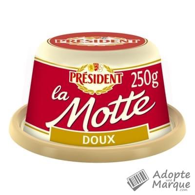 Président Beurre Gastronomique Doux - 82%MG La Motte de 250G