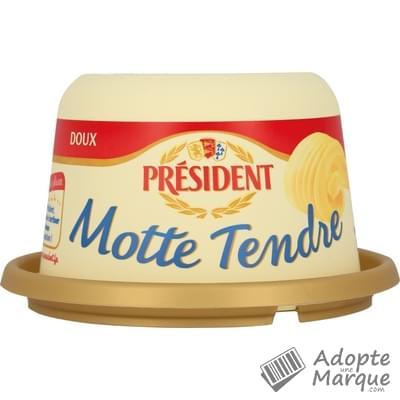 Président Beurre Tendre Doux - 82%MG La Motte de 250G